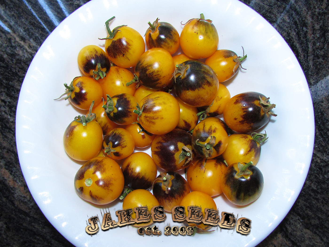 yellow cherry tomatoes - photo #37